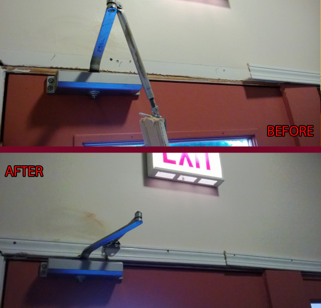 Door Closer Installation