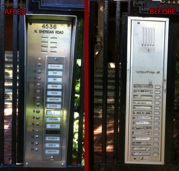 Intercom Installation done by NONSTOP Locksmith