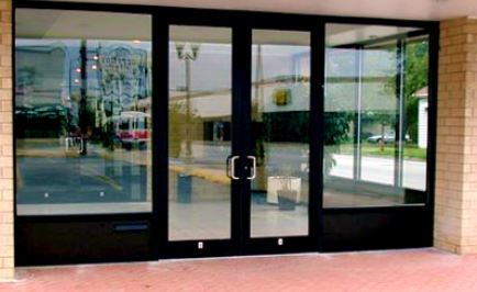 Glass Aluminum Door
