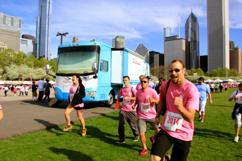 Nonstop Locksmith at Susna G. Komen Race for Cure in Chicagoland Area